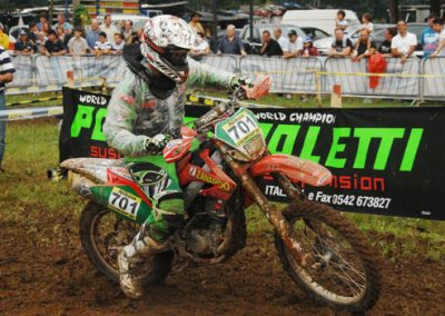 2011 Andrea Castellana Campione Under 23 Categoria 125 4t Cadetti